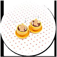kolczyki świąteczne filiżanki z gorącą czekoladą nr 4