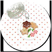 naszyjnik świąteczny ze słodyczami nr 7