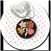 naszyjnik świąteczny ze słodyczami nr 9
