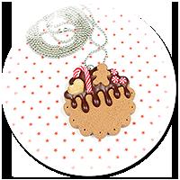 naszyjnik świąteczne ciasteczko nr 6