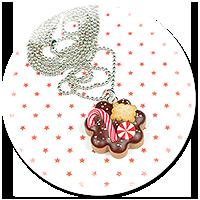 naszyjnik świąteczne ciasteczko nr 8