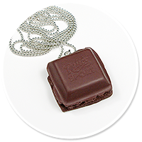 necklace chocolate no. 3