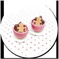 kolczyki świąteczne filiżanki z gorącą czekoladą nr 3