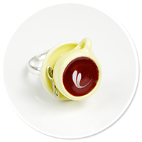 ring with cup (vanilla)