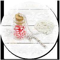 naszyjnik świąteczny słoik z cukierkami nr 2